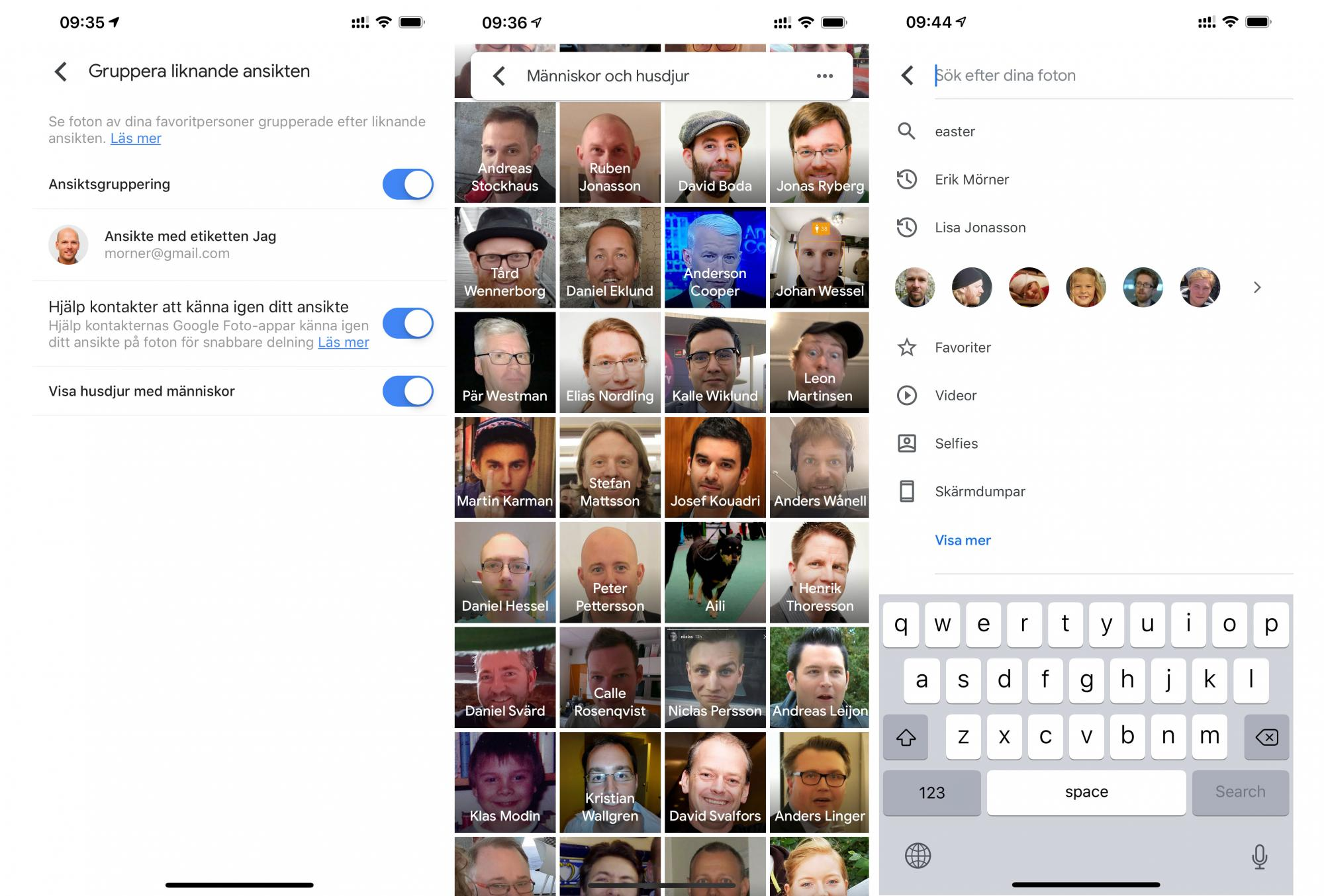 Get facial recognition in Google Photos – plus several new