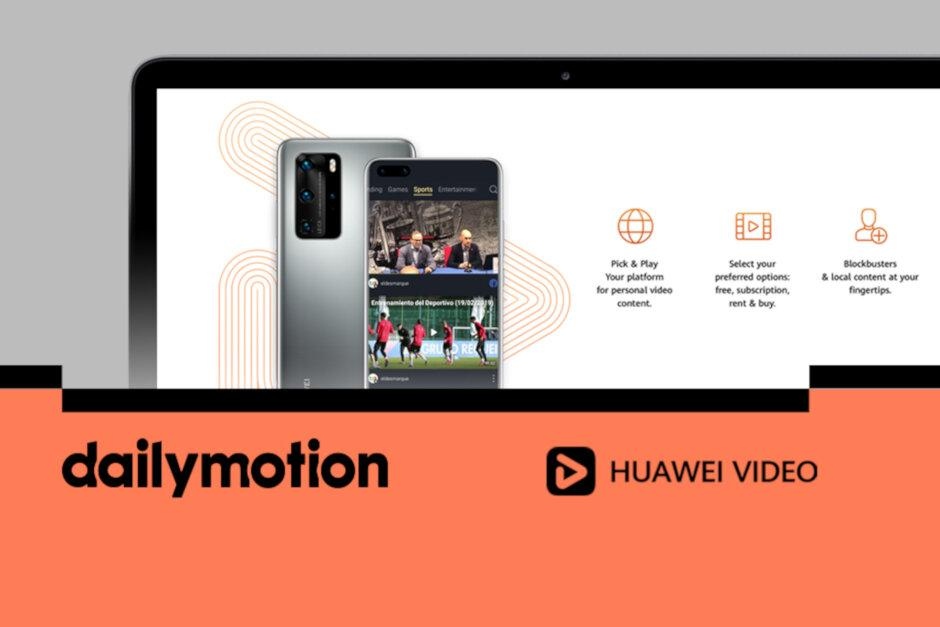 Huawei ersätter YouTube med Dailymotion